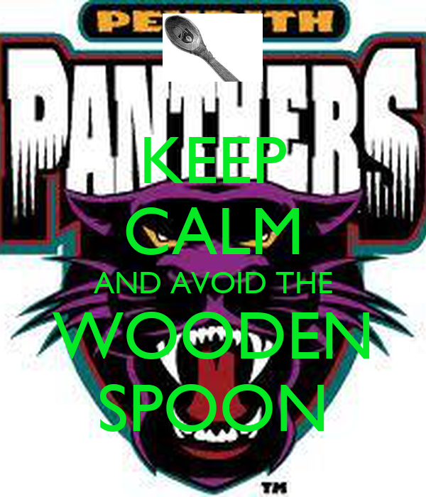 KEEP CALM AND AVOID THE WOODEN SPOON