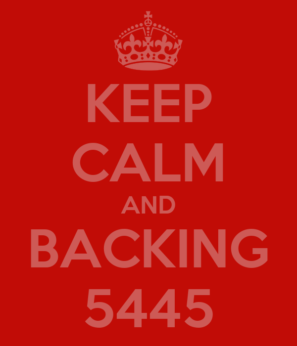 KEEP CALM AND BACKING 5445
