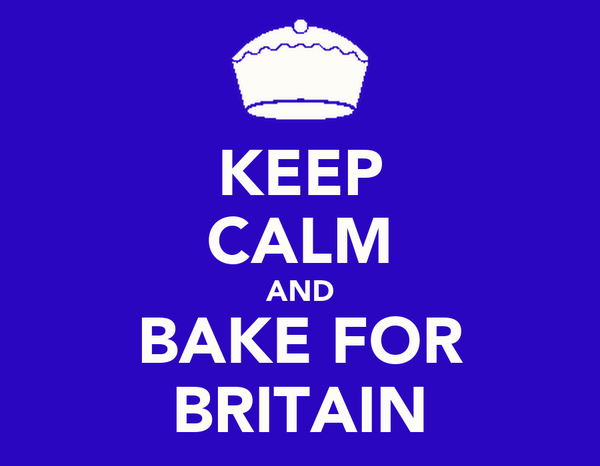 KEEP CALM AND BAKE FOR BRITAIN