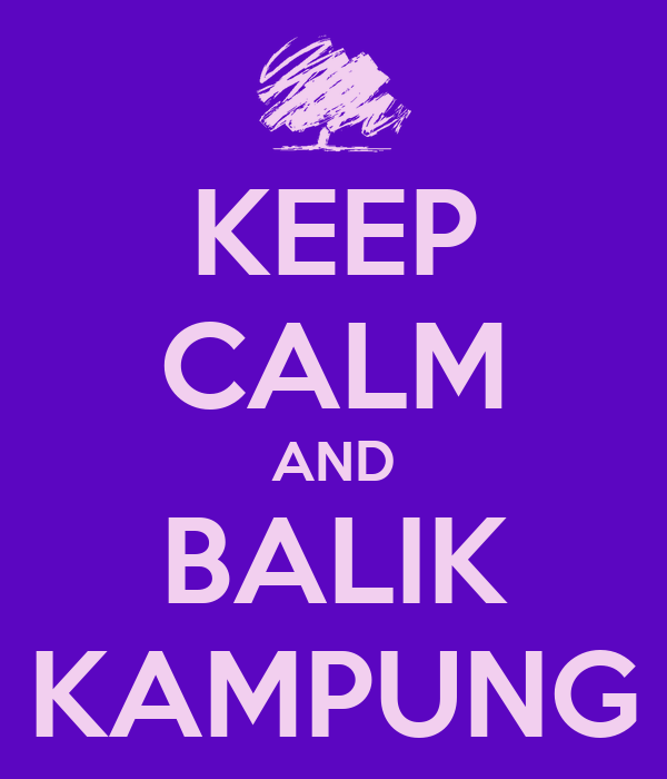 Image result for balik kampung