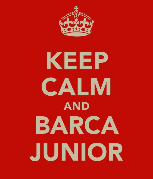 KEEP CALM AND BARCA JUNIOR