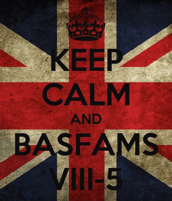 KEEP CALM AND BASFAMS VIII-5
