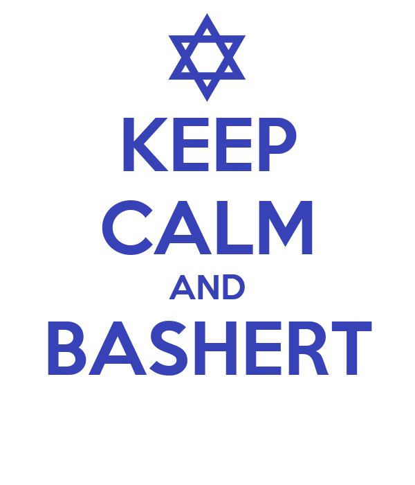 KEEP CALM AND BASHERT