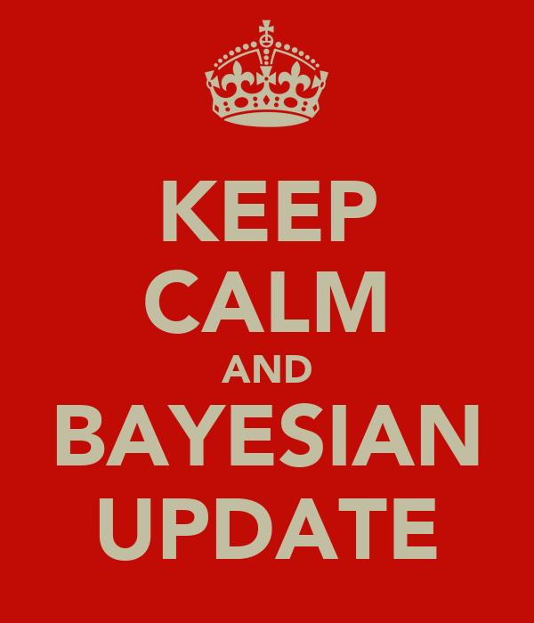 KEEP CALM AND BAYESIAN UPDATE