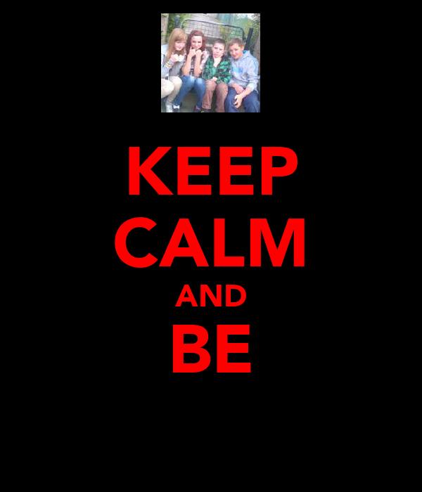KEEP CALM AND BE я̲є̲є̲м̲