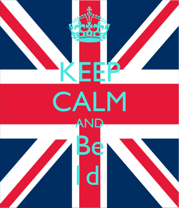 KEEP CALM AND Be 1d