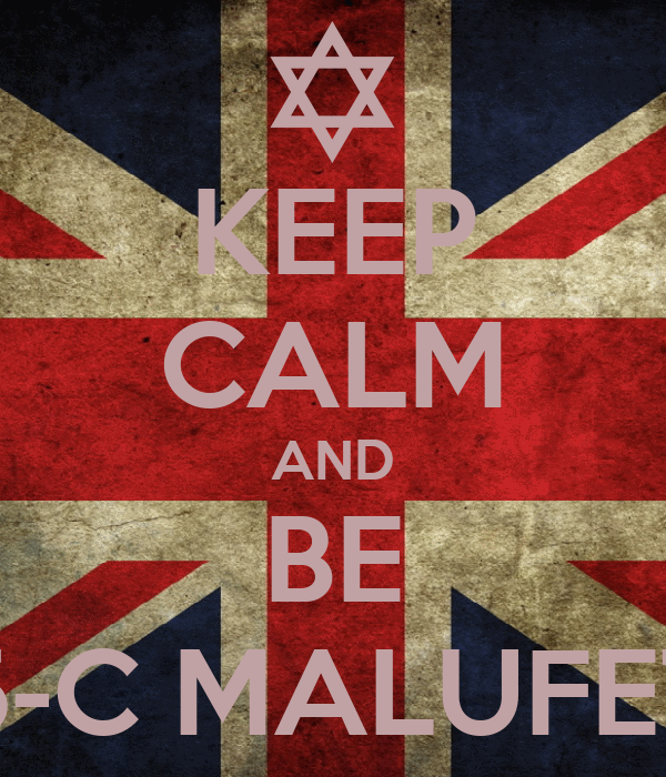 KEEP CALM AND BE 5-C MALUFET