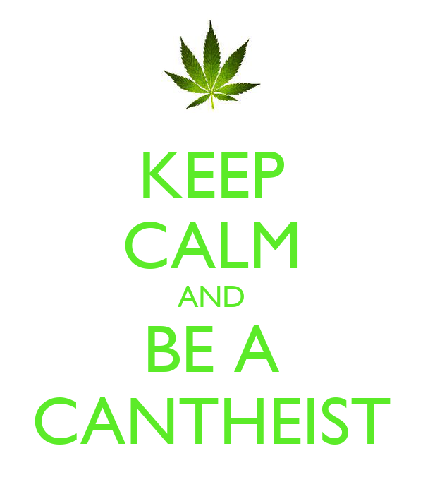 KEEP CALM AND BE A CANTHEIST