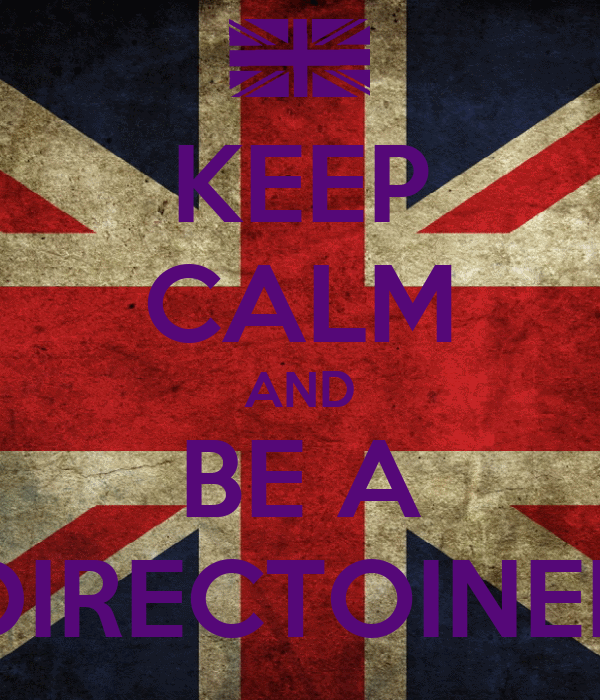 KEEP CALM AND BE A DIRECTOINER