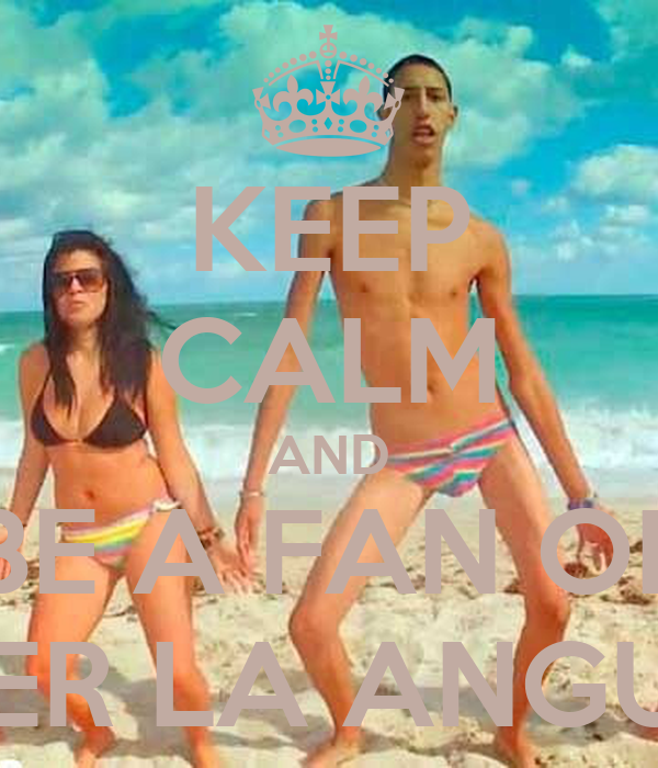 KEEP CALM AND BE A FAN OF PETER LA ANGUILA