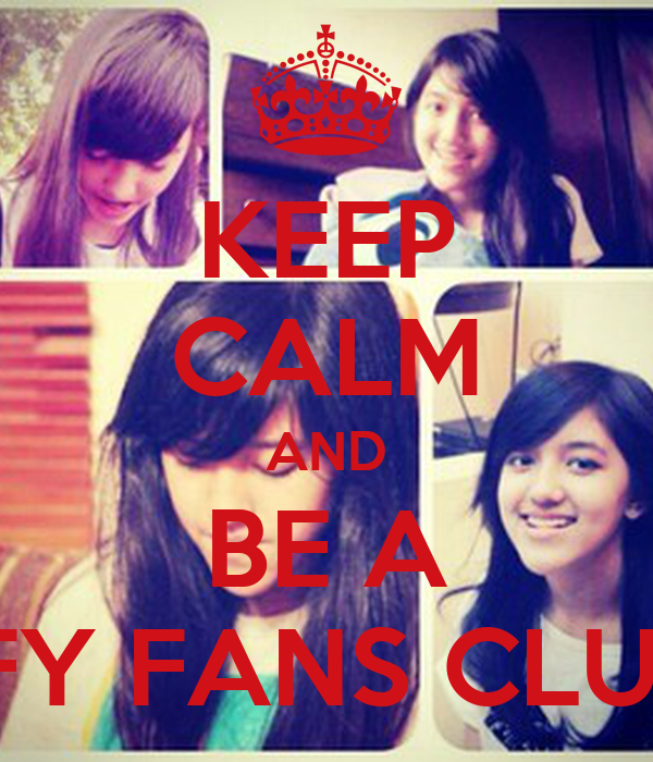 KEEP CALM AND BE A IFY FANS CLUB