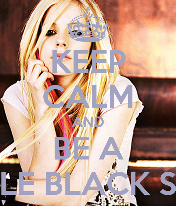 KEEP CALM AND BE A LITTLE BLACK STAR
