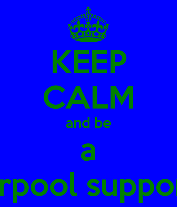 KEEP CALM and be a liverpool supporter