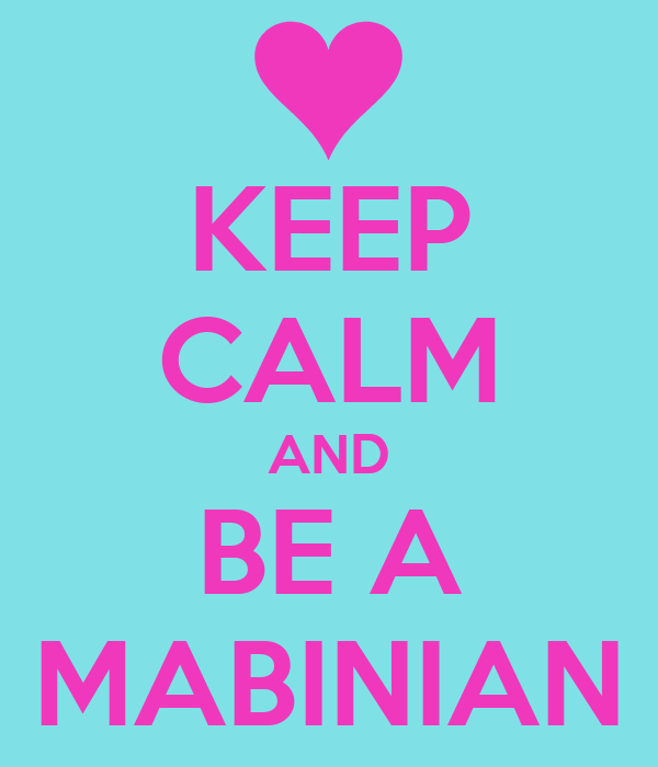 KEEP CALM AND BE A MABINIAN
