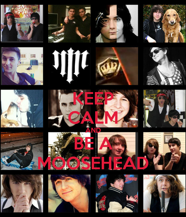 KEEP CALM AND BE A MOOSEHEAD