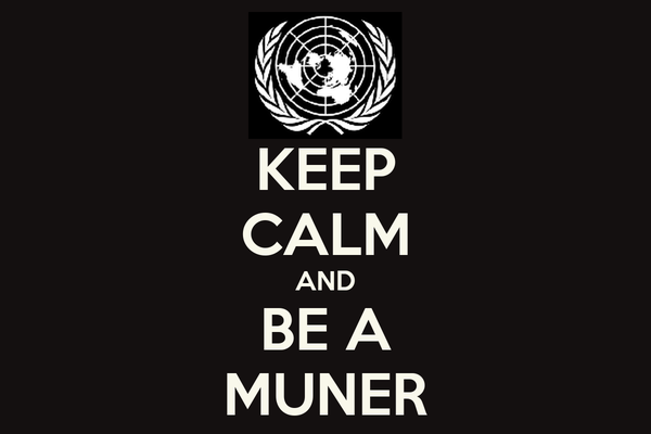 KEEP CALM AND BE A MUNER