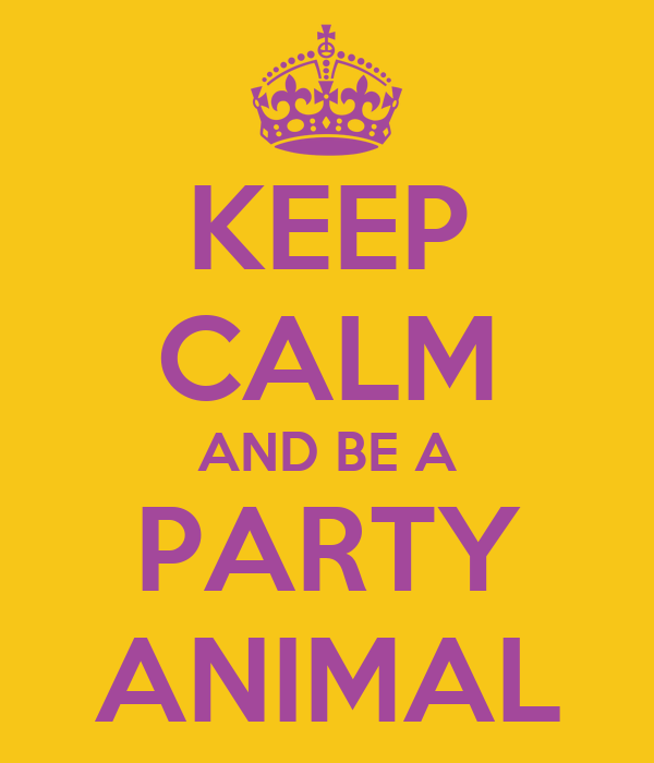 how to become a party animal
