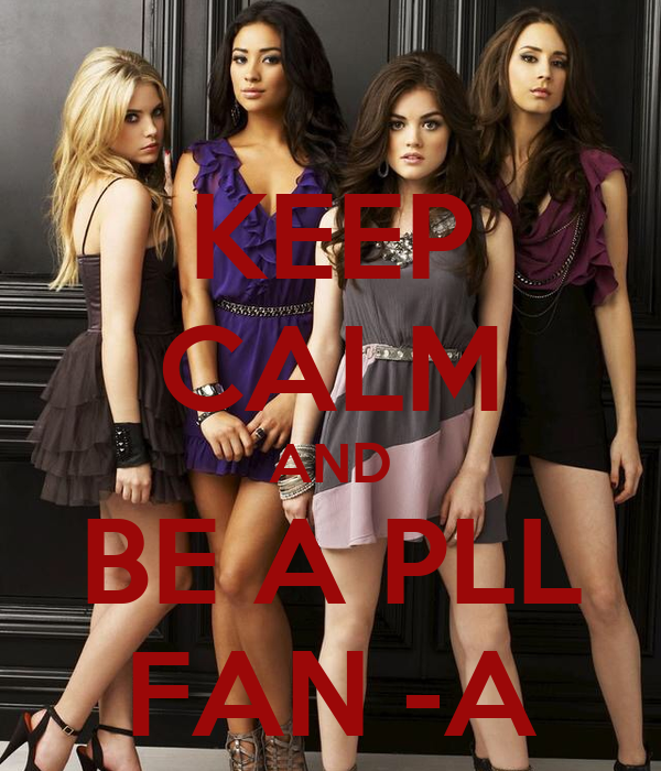KEEP CALM AND BE A PLL FAN -A