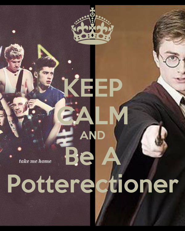 KEEP CALM AND Be A Potterectioner