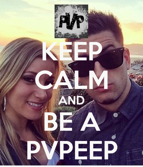 KEEP CALM AND BE A PVPEEP