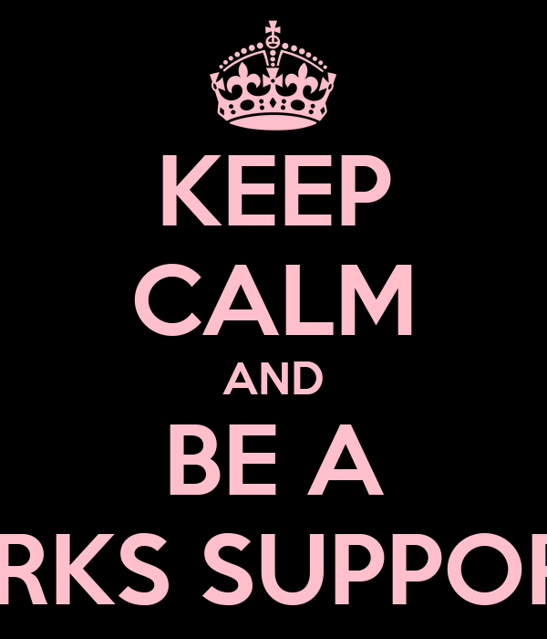 KEEP CALM AND BE A SHARKS SUPPORTER