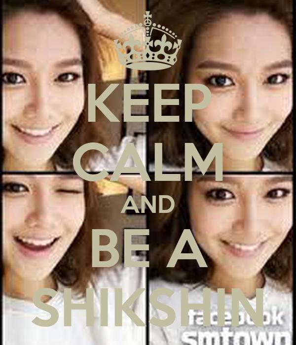 KEEP CALM AND BE A SHIKSHIN