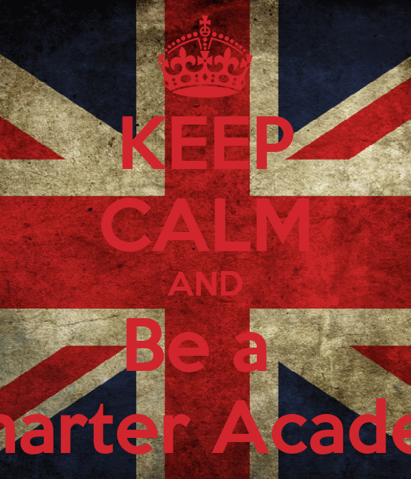 KEEP CALM AND Be a  Swallows Charter Academy Student