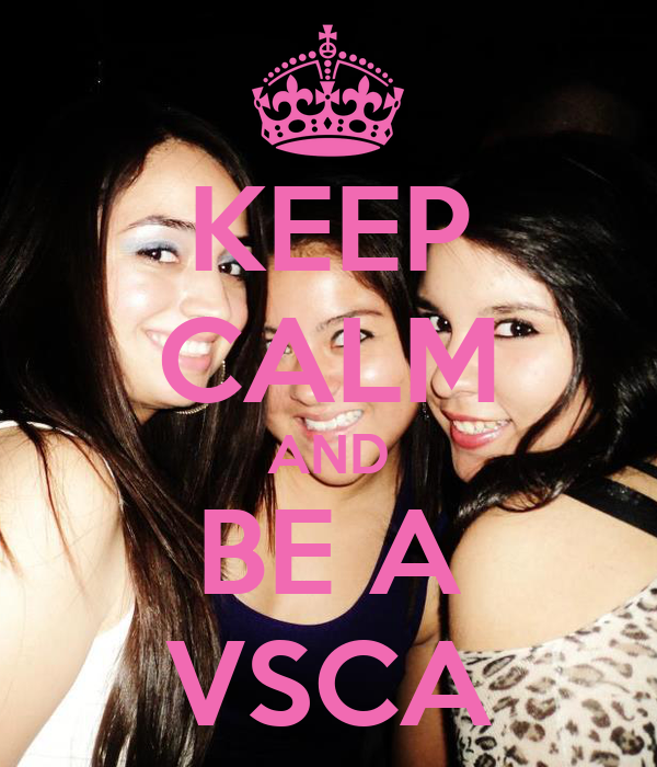 KEEP CALM AND BE A VSCA
