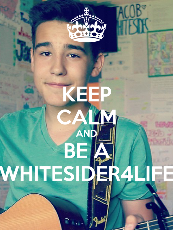 KEEP CALM AND BE A WHITESIDER4LIFE