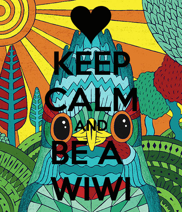 KEEP CALM AND BE A  WIWI