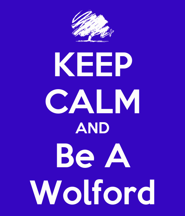 KEEP CALM AND Be A Wolford