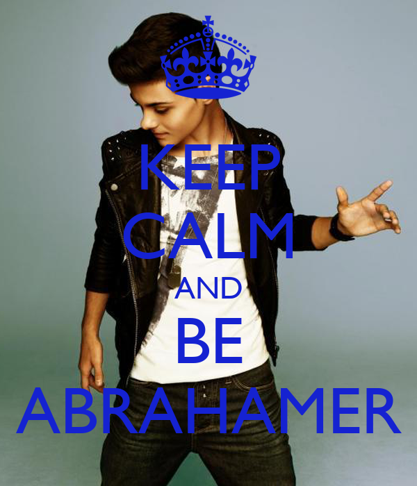KEEP CALM AND BE ABRAHAMER
