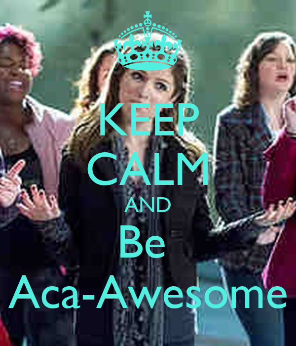 KEEP CALM AND Be  Aca-Awesome