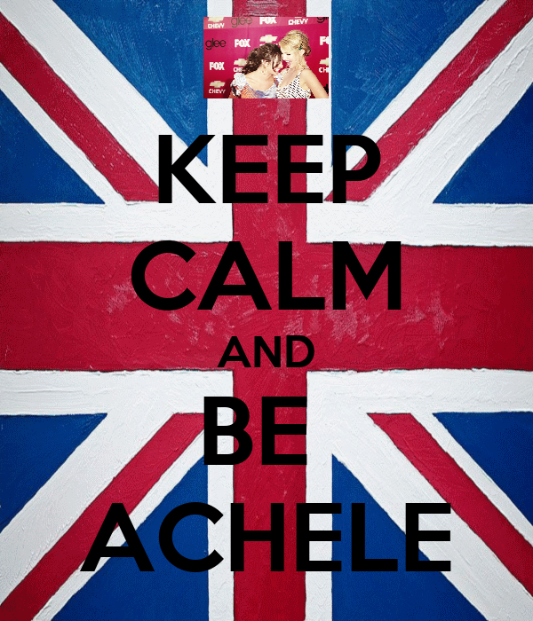 KEEP CALM AND BE  ACHELE
