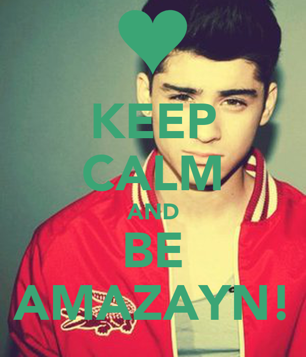KEEP CALM AND BE AMAZAYN!