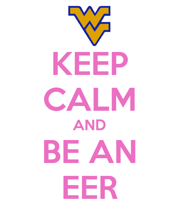 KEEP CALM AND BE AN EER