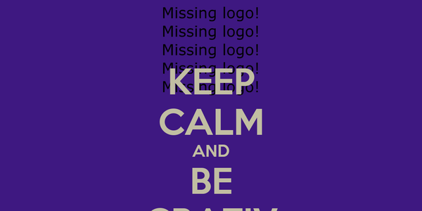KEEP CALM AND BE CRATIV