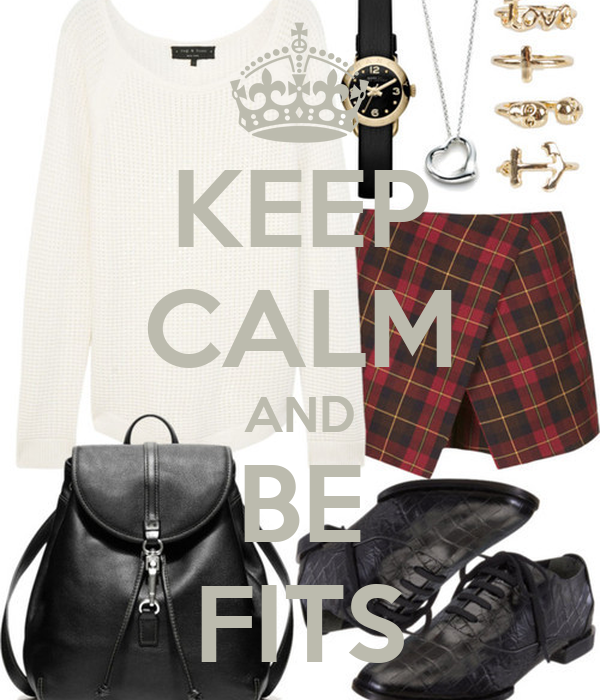 KEEP CALM AND BE FITS