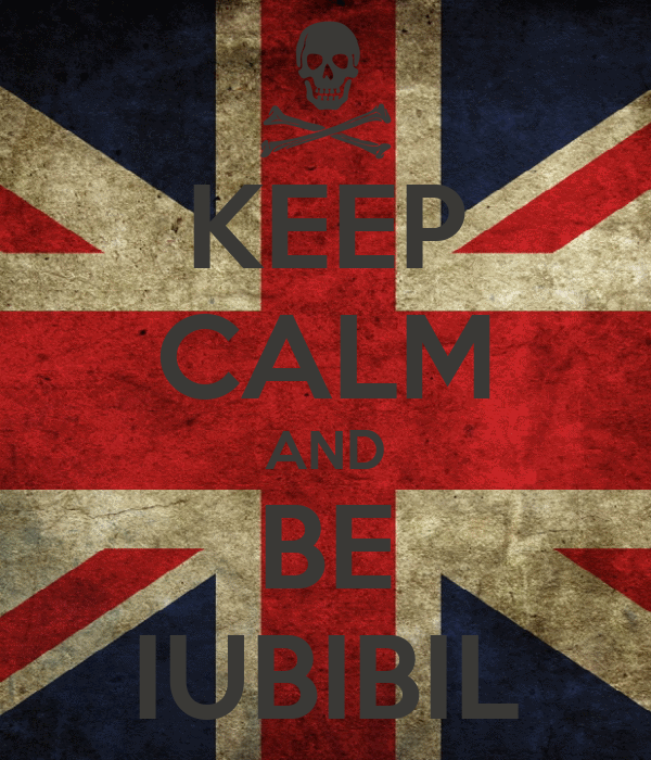 KEEP CALM AND BE IUBIBIL