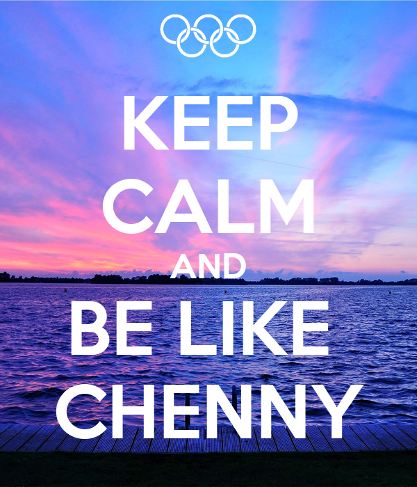 KEEP CALM AND BE LIKE  CHENNY