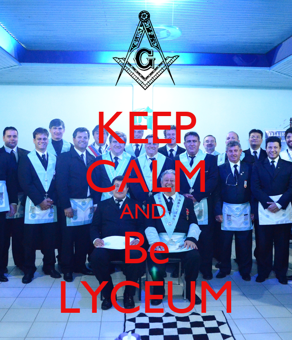 KEEP CALM AND  Be LYCEUM