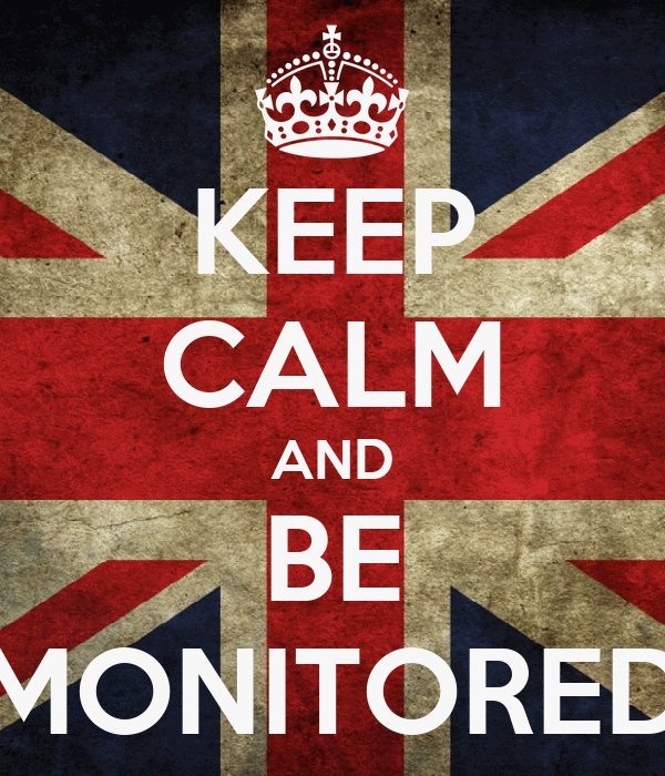 KEEP CALM AND BE MONITORED