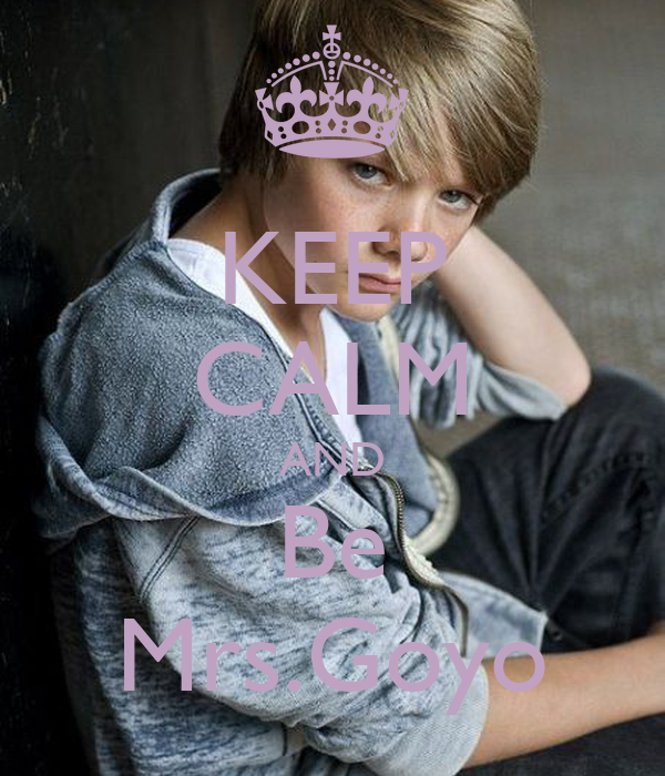 KEEP CALM AND Be Mrs.Goyo