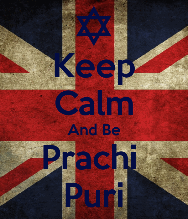 Keep Calm And Be Prachi  Puri