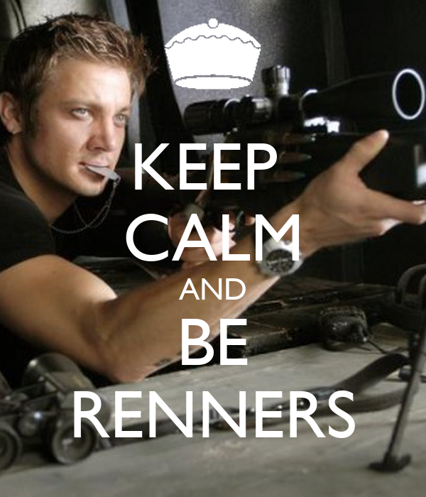 KEEP  CALM AND BE RENNERS
