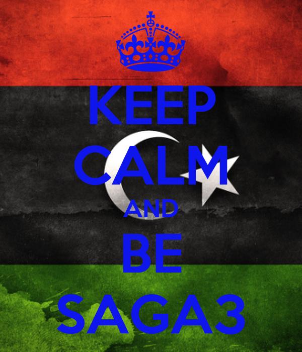 KEEP CALM AND BE SAGA3