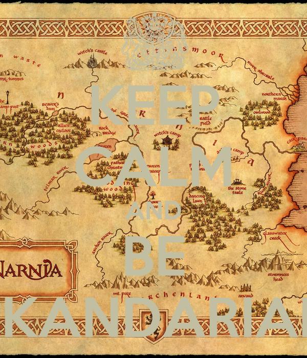 KEEP CALM AND BE SKANDARIAN