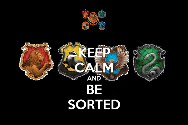 KEEP CALM AND BE SORTED