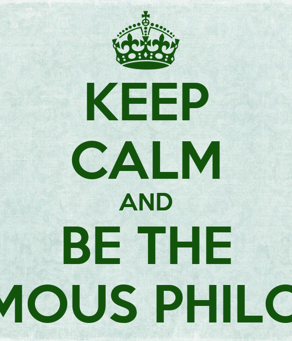 KEEP CALM AND BE THE ANONYMOUS PHILOSOPHER