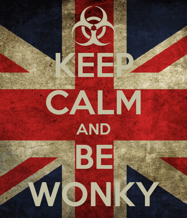 KEEP CALM AND BE WONKY